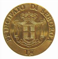 ITALIA - PRINCIPATO DI SEBORGA - GIORGIO I - 1 LUIGINO 1995 - Italia
