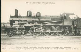 Les Locomotives Françaises  (Etat) -      N° 230-622  Pour   Trains Rapides Lourds - Trains