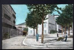 07 - PRIVAS - L'ESPLANADE L'HOTEL DES POSTES - Privas