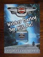 Harley Davidson Parfum Carte Postale - Perfume Cards