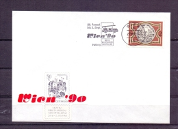 Rep. Österreich  - Wien '90 - Intern. Briefmarkenausstellung - Wien 31/8/1990 (RM3889) - Sapeurs-Pompiers