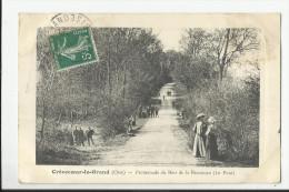 CREVECOEUR-LE-GRAND , PROMENADE DU BOIS DE LA HOUSSOYE - Crevecoeur Le Grand