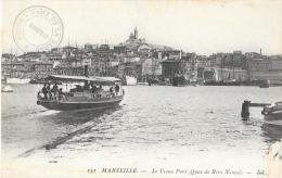 Marseille - Le Vieux Port - Quai De Rive Neuve - Carte Non Circulée - Old Port, Saint Victor, Le Panier