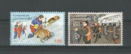 Liechtenstein  2013 ,  Mi.Nr. 1665/66, Freiwillige Aktivitäten Zum Bevölkerungsschutz - Postfrisch / MNH / Mint / (**) - Liechtenstein