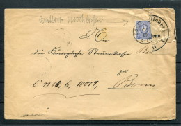 1889 Germany Koln Kaiserliches Postampt Bonn Konigliche Regierung Zu Coln Brief - Briefe U. Dokumente