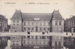 CPA 35 @ RENNES @ Le Palais De Justice @ - Rennes
