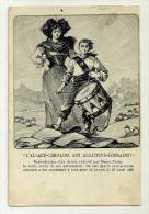 67 68 CPA Alsace Lorraine Aux Alsaciens Lorrains  Illustrateur Henri Zisslin Tambour - Illustrateurs & Photographes