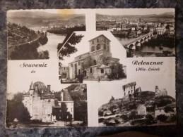 RETOURNAC (43) MULTIVUES . PHOTO VERITABLE. ANNEE 1961 - Retournac