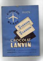 PROTEGE CAHIER CHOCOLAT LANVIN ( LILOU 12 ) - Cocoa & Chocolat