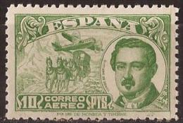 ES990-L4166TTOA.España,Spain.Espagne.CONDE DE SAN LUIS .Dia Del Sello..Dia De La Hispanidad.AEREA 1945. (Ed  990**). - Transporte