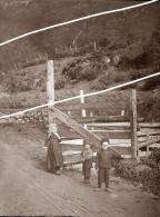 NORVEGE STALHEIM   TIRAGE D APRES PLAQUE PHOTO EN 1899 - Repro's