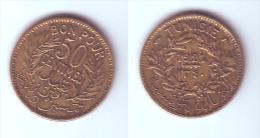 Tunisia 50 Centimes 1921 - Túnez