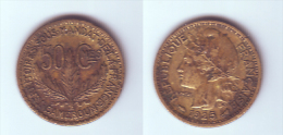Cameroon 50 Centimes 1925 - Cameroun