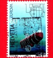 SVIZZERA - 1994  - Europa - Scoperte - Batiscafo Trieste - 60 - Usati