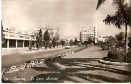POSTAL DE CARACAS DE LA GRAN AVENIDA (COCHE-CAR) VENEZUELA - Venezuela