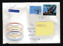 Svizzera ° - 2003 - . Storia Postale -  Alinghi. Unif. 1759 + 699 - Storia Postale