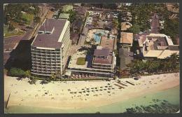 United States,  Hawaii, Halekulani Hotels, Aerial View, 1962. - Honolulu