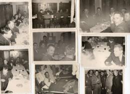PHOTOS  VERITABLES  - PELOTON / ECOLE De GENDARMERIE - TOULOUSE - Gendarme Henri Gendron - 1945 - Non Classés