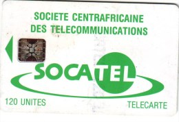 Carte 20 - Central African Republic