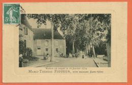 N14/ 081, Maison Où Naquit Le 16 Janvier 1774, Marie-Thérèse Figueur Dite Madame Sans-Gêne,femme-soldat,T Almay,circulée - Fancy Cards