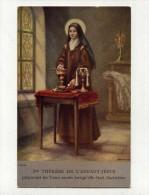 CP , RELIGIONS , CHRISTIANISME , SAINTE-THERESE De L' ENFANT JESUS Lorsqu'elle était Sacristine - Saints
