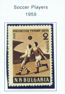 BULGARIA  -  1959  Youth Football Games  Unmounted Mint - Neufs