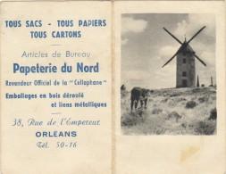 PETIT CALENDRIER 1958 - Calendriers