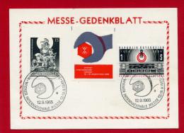 VIGNETTE AUTRICHE 1965 FOIRE INTERNATIONALE DE VIENNE EN SUPERBE ETAT WIEN MESSE - Erinnophilie