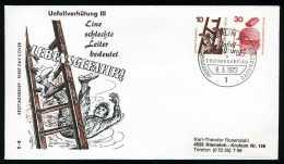 30290) Berlin - Michel 403 + 406 - FDC - 10-30Pf Unfallverhütung - FDC: Briefe