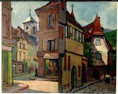 68 CPA Mulhouse Kaisersberg Illustrateur Alsace Henry Munsch - Non Classificati