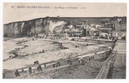 SAINT VALERY EN CAUX - SEINE MARITIME - LA PLAGE ET LE CASINO - Saint Valery En Caux