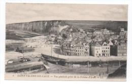 SAINT VALERY EN CAUX - SEINE MARITIME - VUE GENERALE PRISE DE LA FALAISE D´AVAL - Saint Valery En Caux