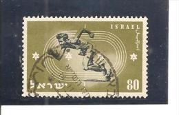 Israel. Nº Yvert 34 (usado) (o) (pliegue Vertical) - Israel