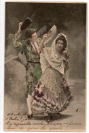 Tauromaquia  Corrida De Toros Bull Fight Tarjeta Postal Carte Postale Ca1900 Vintage Original Postcard Cpa Ak (W3_3268) - Corridas
