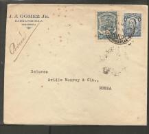 O) 1929 COLOMBIA, SANTANDER, SCADTA 30 CENTAVOS, SCADTA TO NEW YORK, XF. - Colombie