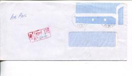(stamp 70)  Registration Label From Taiwan To Australia - - Taiwán (Formosa)