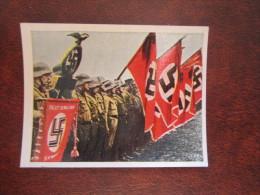 Standarte Schlageter SA Rheinland Swastika Nazi NS Propaganda 151 Salem Zigarettenbild Der Kampf Ums Dritte Reich - Sonstige
