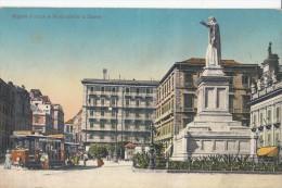 1920 CIRCA NAPOLI PIAZZA E MONUMENTO A DANTE - Napoli