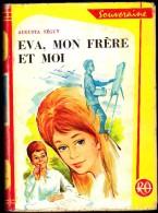 Augusta Séguy - Eva, Mon Frère Et Moi - Collection Rouge Et Or  Souveraine N° 635- ( 1963 ) . - Bibliothèque Rouge Et Or