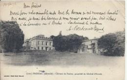 AQUITAINE - 33 - GIRONDE - FRONSAC - Château De Pontus Propriété Général D'Amade - Other Municipalities