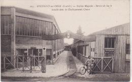 BRETIGNY Sur ORGE -  Station Magasin - Service De Santé  Installé Dans Les établissements  Clause (moins Courante) - Bretigny Sur Orge
