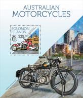 slm13713b Solomon Is. 2013 Motorcycles Motorbike s/s