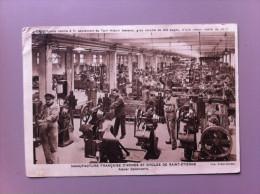 Manufacture Française D´Armes Et De Cycles De Saint-Etienne  Atelier De Canonnerie - Industry