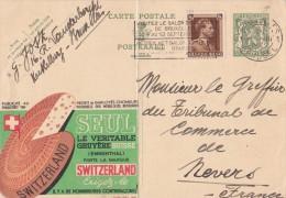 20259 - Entier Postal - Carte Publibel N° 259 - Gruyère Emmenthal - Voir Photo Pour Détails - Trace De Pliure Au Centre - Publibels