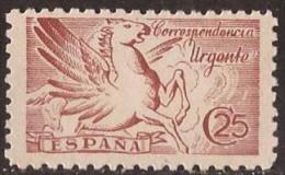 ES952-L4168TVÑF.España  Spain Espagne PEGASO SIN PIE DE IMPRENTA  1939 (Ed  952**)sin Charnela. - Viñetas De Fantasía