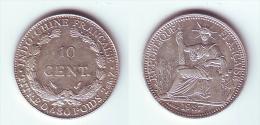 French Indochina 10 Cents 1937 - Viêt-Nam
