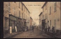 CPA  425  La Crau Rue Du Gapeau - France