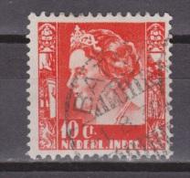 Nederlands Indie Netherlands Indies 253 With Watermark Used ; Koningin, Queen, Reine, Reina Wilhelmina 1938-1940 - Nederlands-Indië