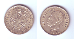 Haiti 5 Centimes 1905 - Haïti