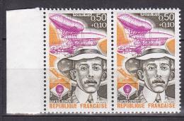 N° 1746 Personnages Célèbres: Santos-Dumont: Une Paire De 2 Timbres Timbres - Unused Stamps